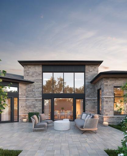 Aménagement extérieur - terrasse